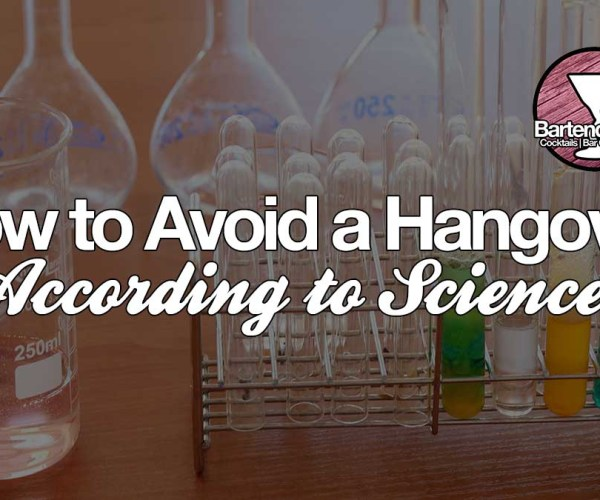 Avoid hangovers the right way, according to Science!