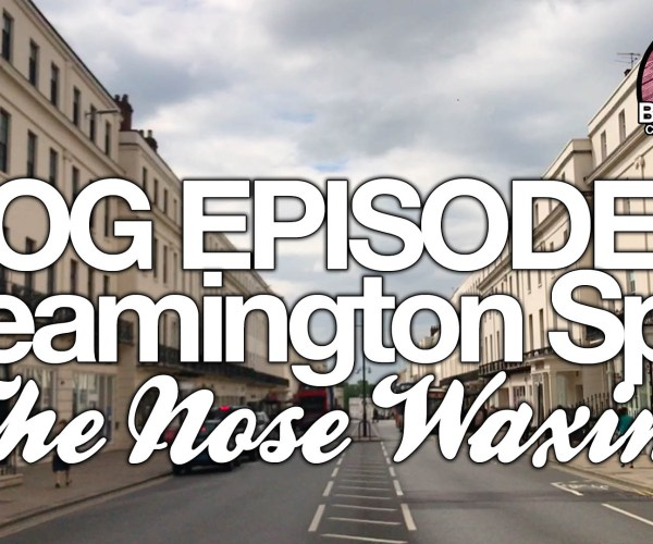 Nose Waxing – Leamington Spa | BartenderHQ Vlog