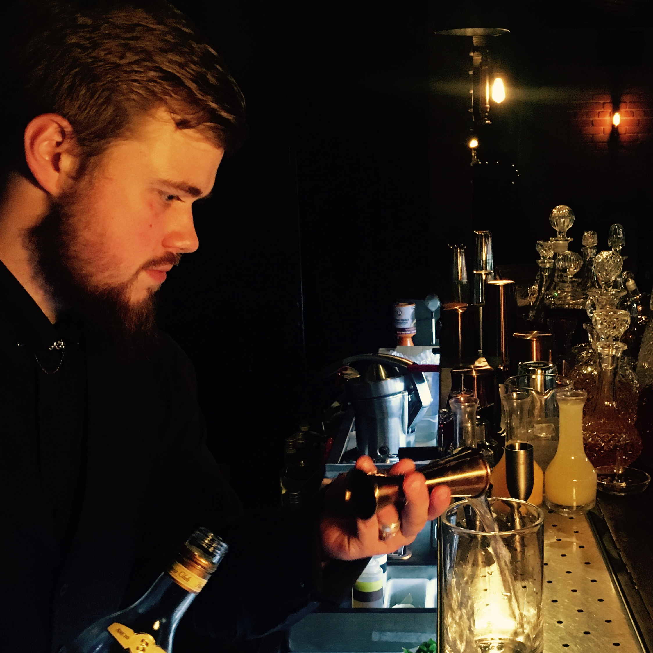 Luke Bensley – The Vermouth Ambassador Cocktail Showcase