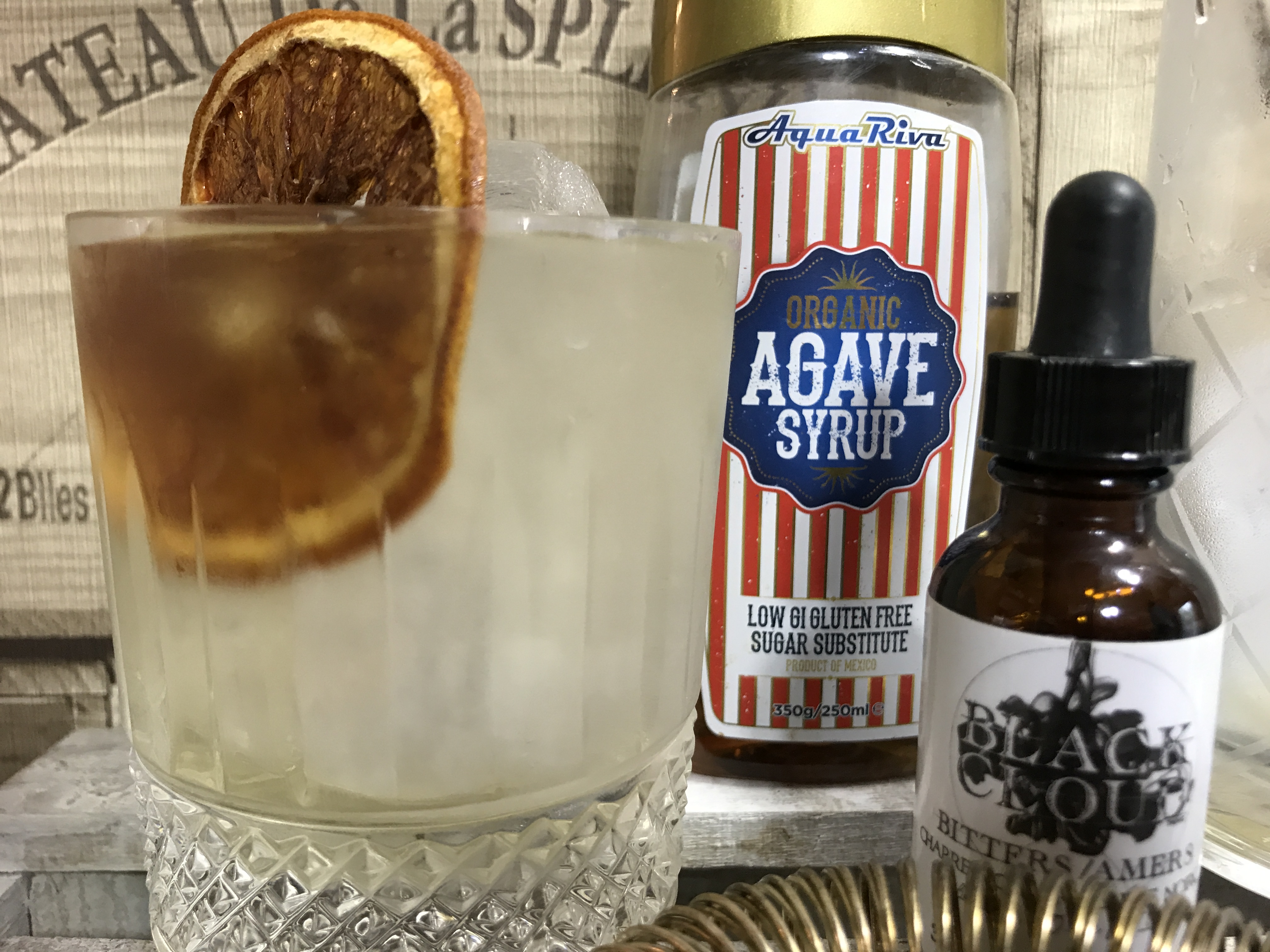Smokey Tequila Old Fashioned | Agave Month