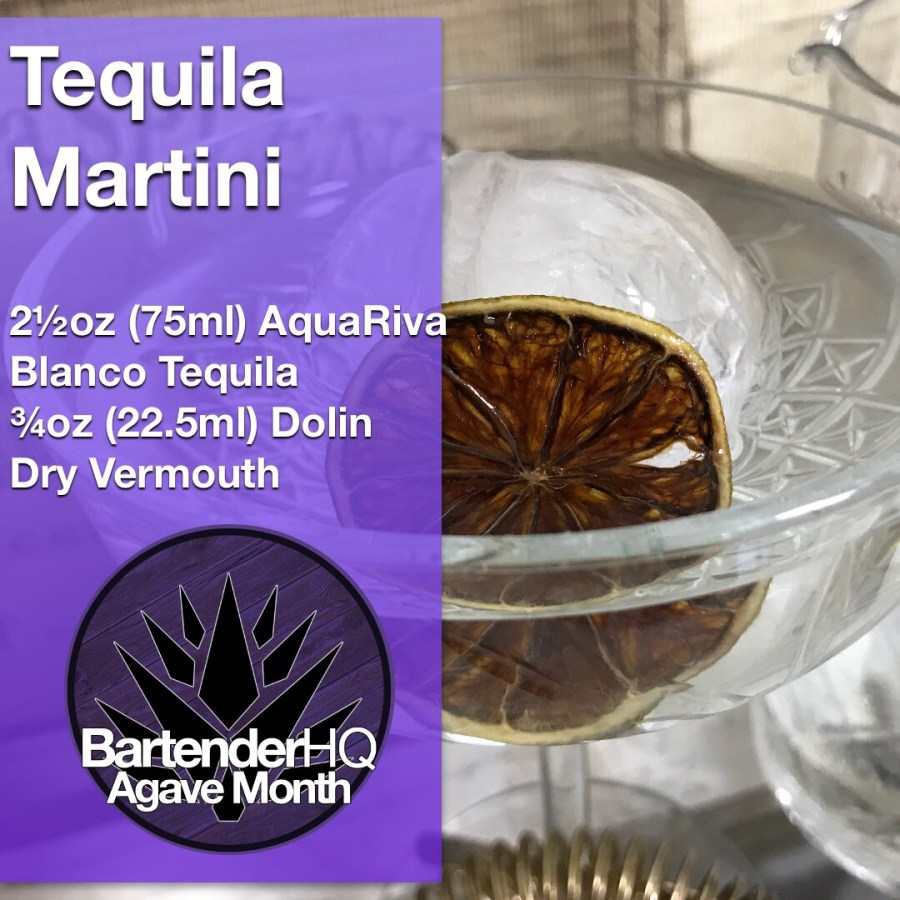 Tequila Martini Cocktail from BartenderHQ