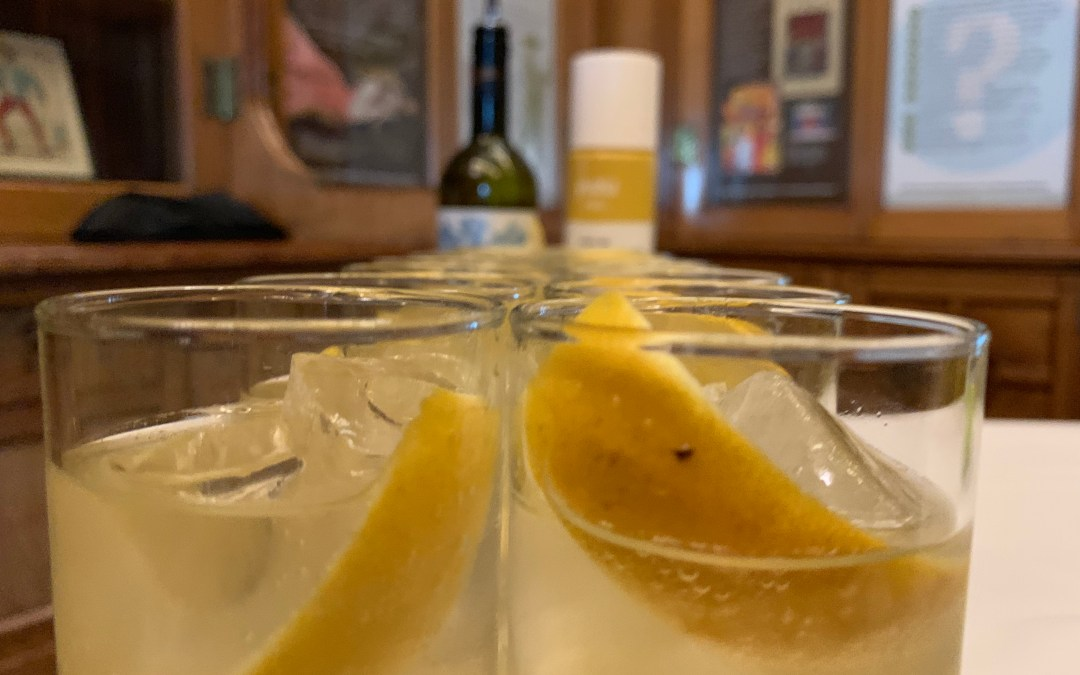 Martini Ambrato Yuzu Spritz Cocktail