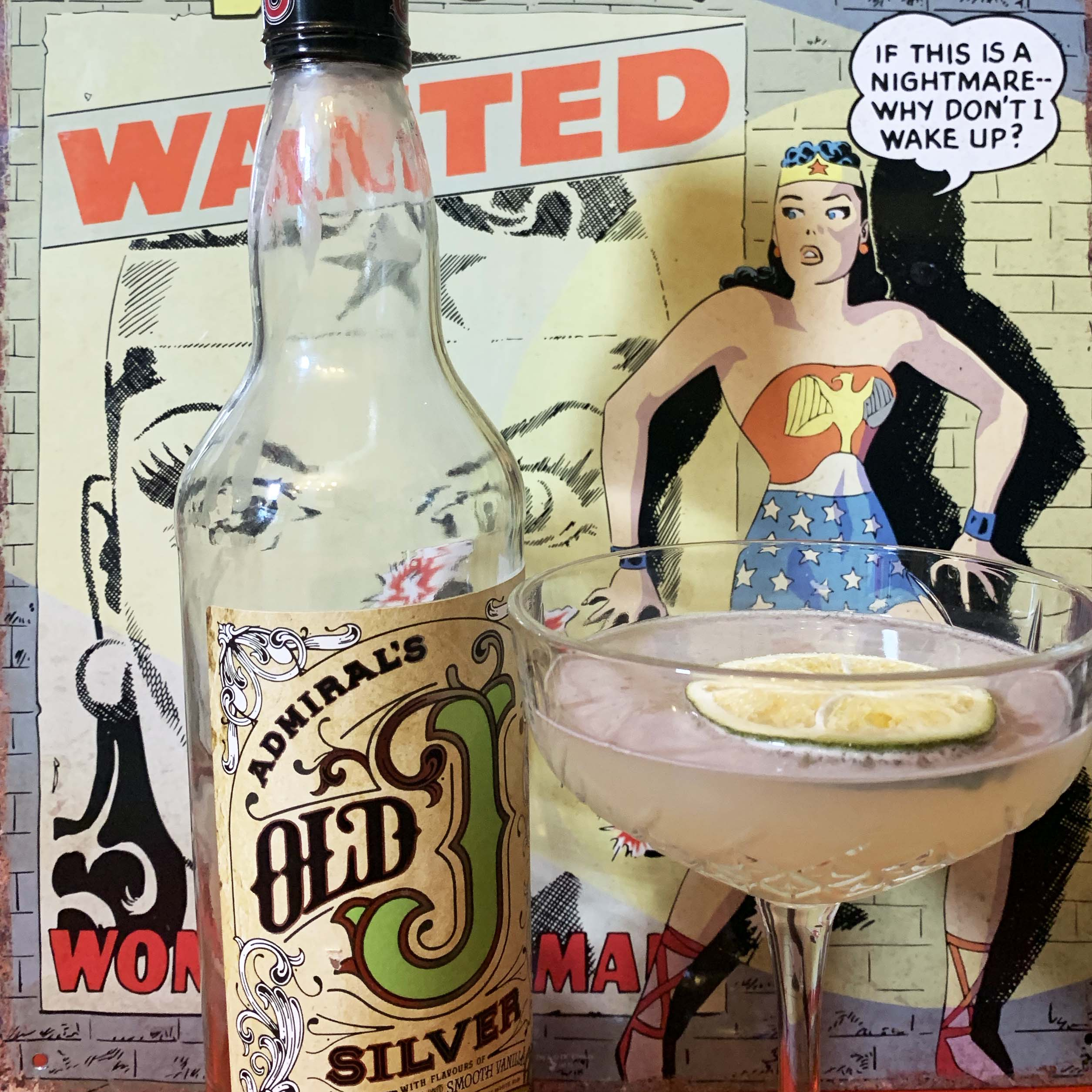 Wonder Woman Vanilla Daiquiri – Superhero Drinks