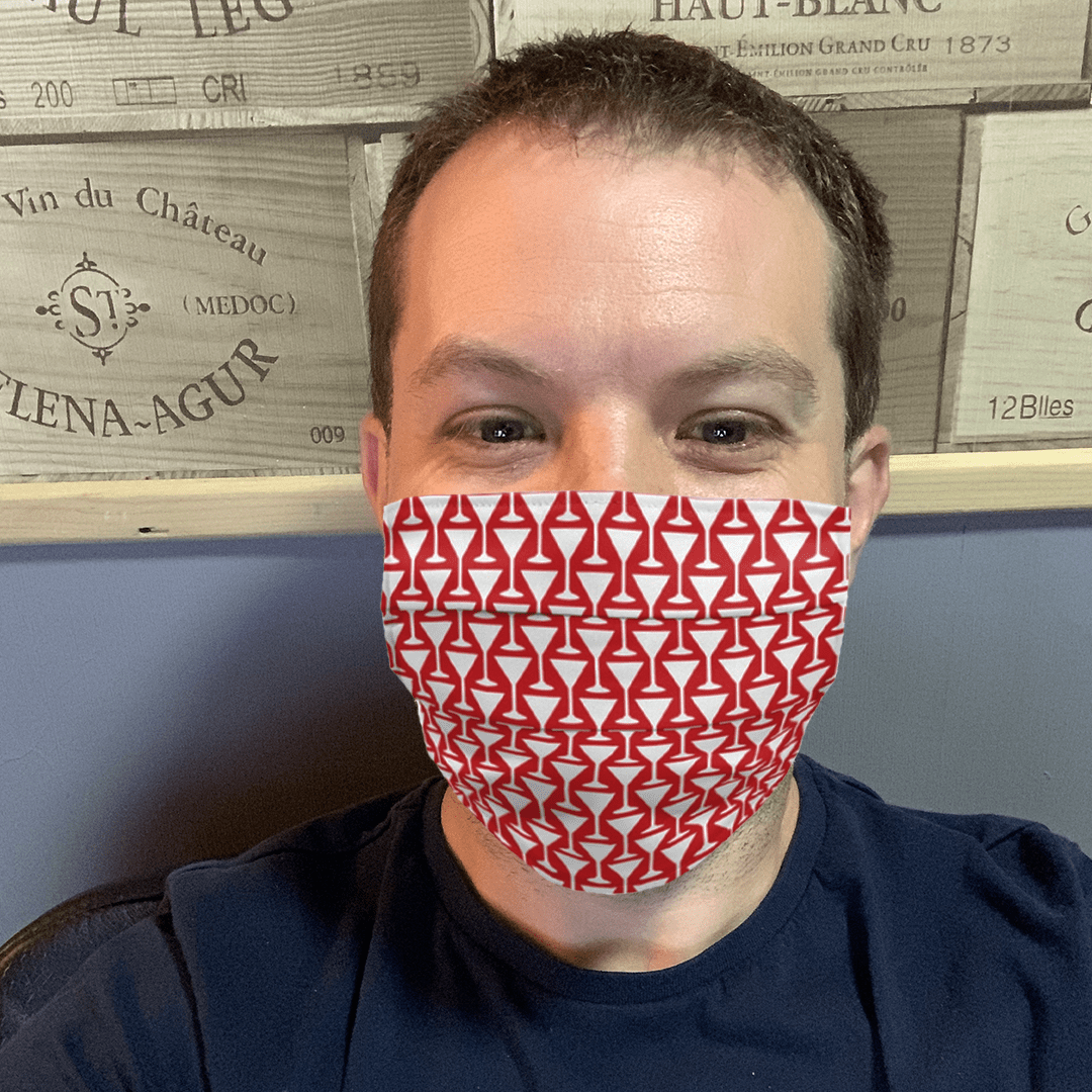 Bartender Face Masks Available Now.
