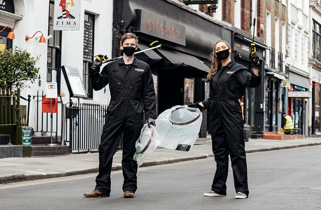 DISCARDED'S Zero-Waste Warriors Clean Up LONDON'S Streets