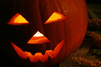 More pumpkin lanterns for halloween