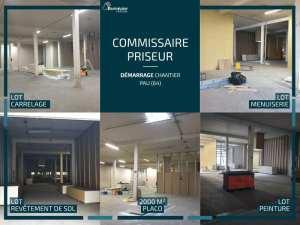 Réalisation de l'étude commissaires priseurs Carrère & Laborie à Pau