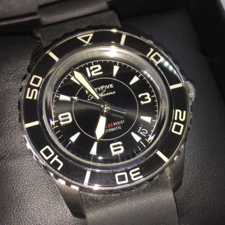 "Seiko SNZH57 ""Dagaz"" Fifthy Fanthoms limited edition"