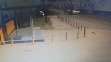 Bartın'da feci kaza güvenlik kameralarına yansıdı