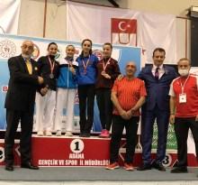 Bartın Üniversitesi mezunu Rabia Elik, Türkiye Şampiyonu oldu