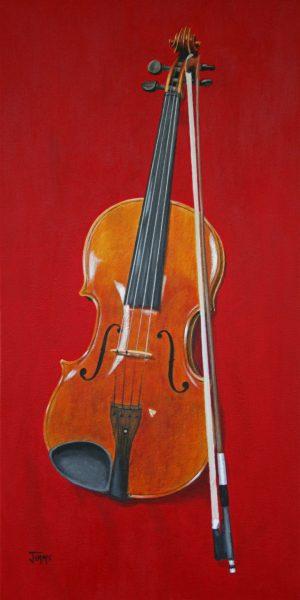 ViolinAdjJimmieBartlett8x16