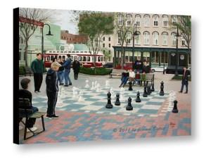 Old Galveston Square 3D