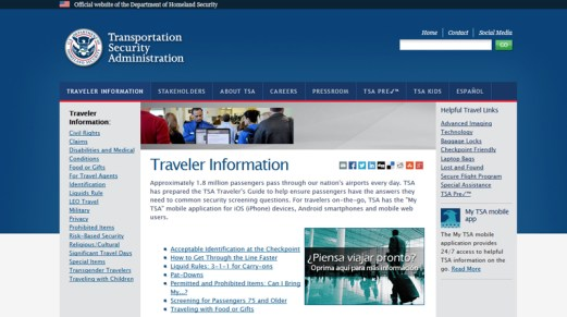 Bartlett-Tours-TSA-traveler-information