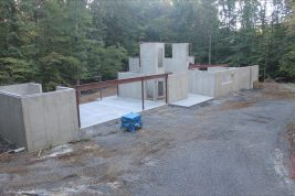 2014-09-22 Completed Slabs and Conrete Work
