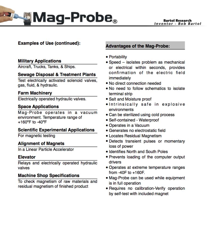 Mag-Probe White Paper