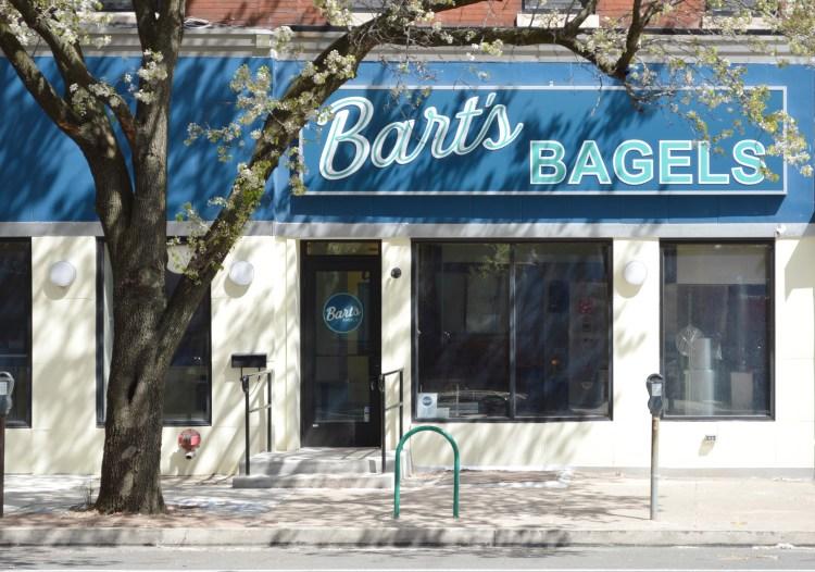 Bart's Bagels storefront