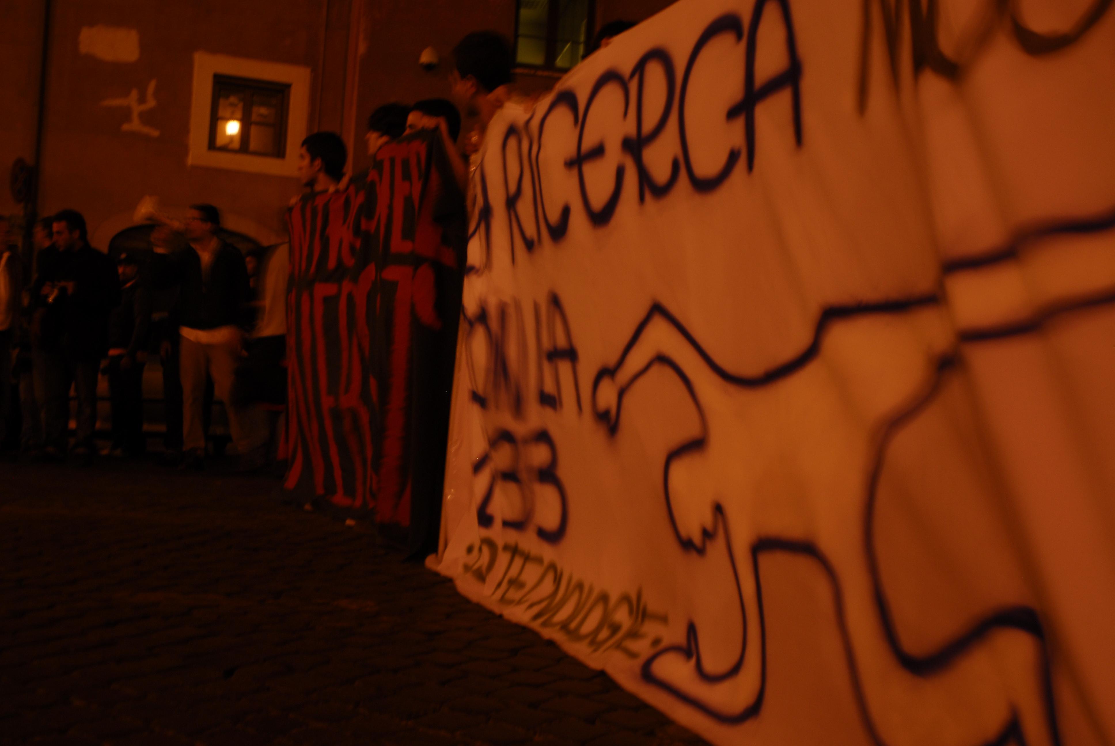 Foto di Valentina Perniciaro _assedio al senato