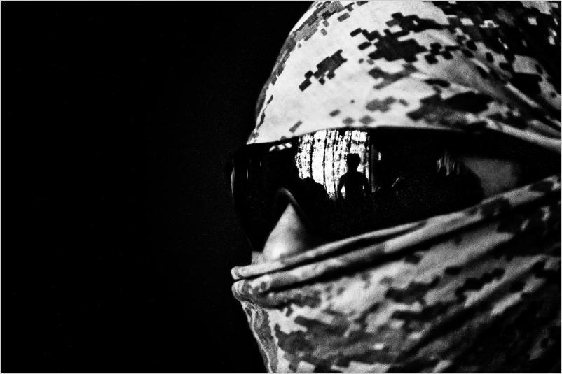 Foto di Zoriah Miller _Baghdad, Soldato USA_