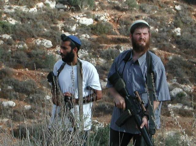 ancora coloni israeliani