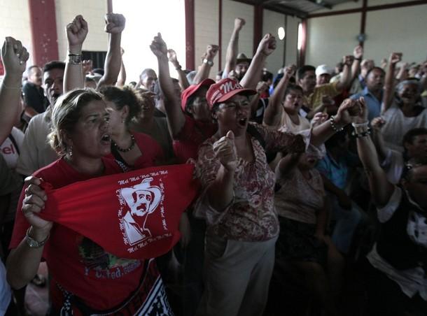 Reuters_Henry Romero_ Incontro di sostenitori di Zelaya a Tegucigalpa