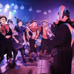 supporting King Lagoon's Flying Swordfish Dance Band, Speigeltent, Brighton Fringe 2016