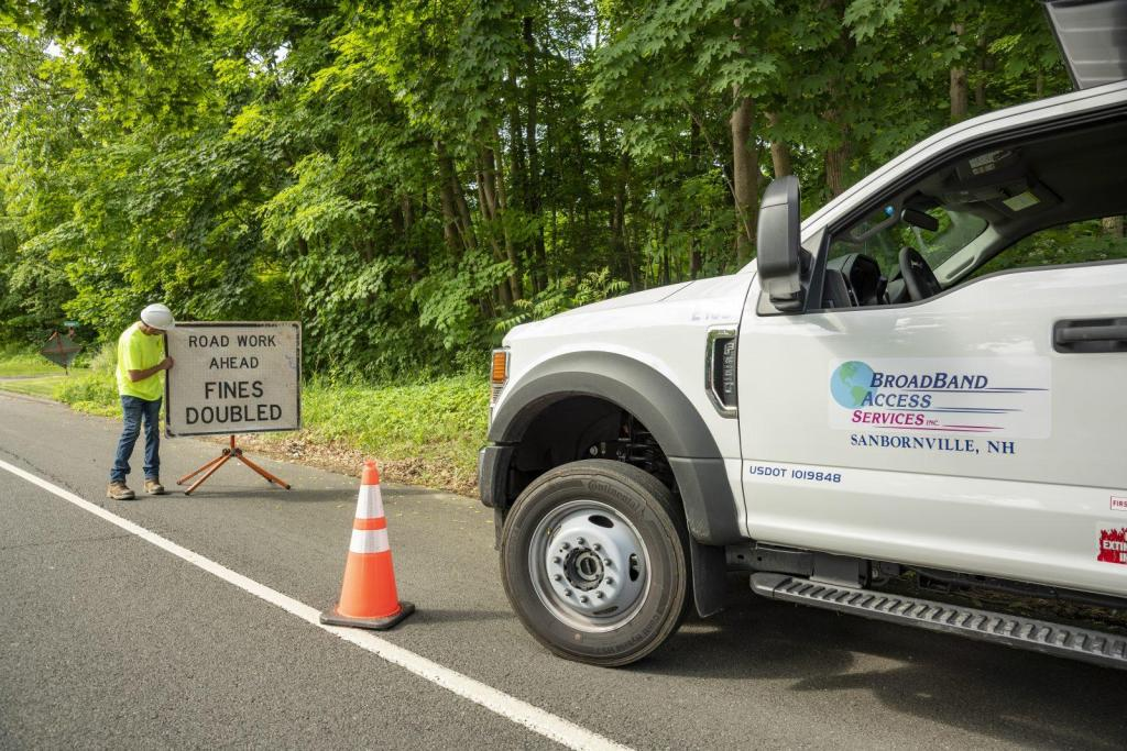 BroadBand Access Services Construction Signgae Safety Traffic