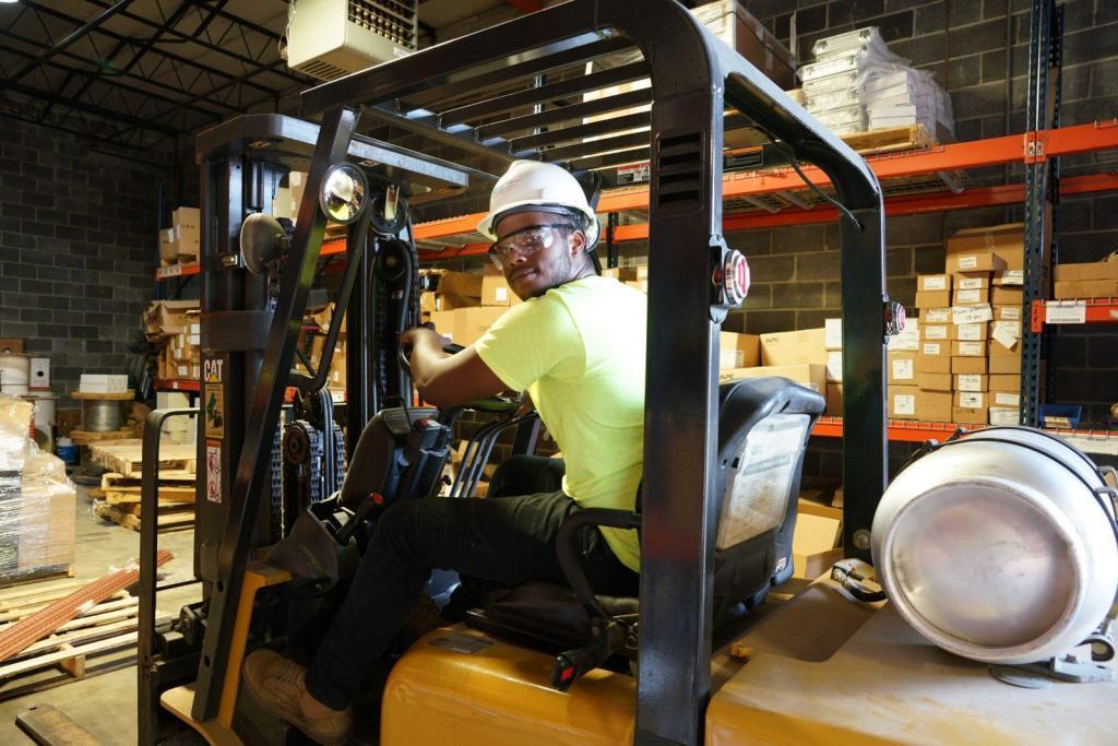 Inventory Management Jaylen Warehouse Forklift