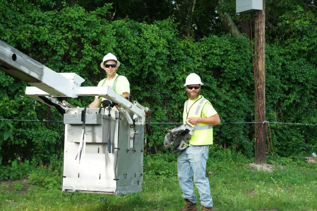 Posi Plus Groundman Lineman Construction Cable Coaxial Fiber Bucket