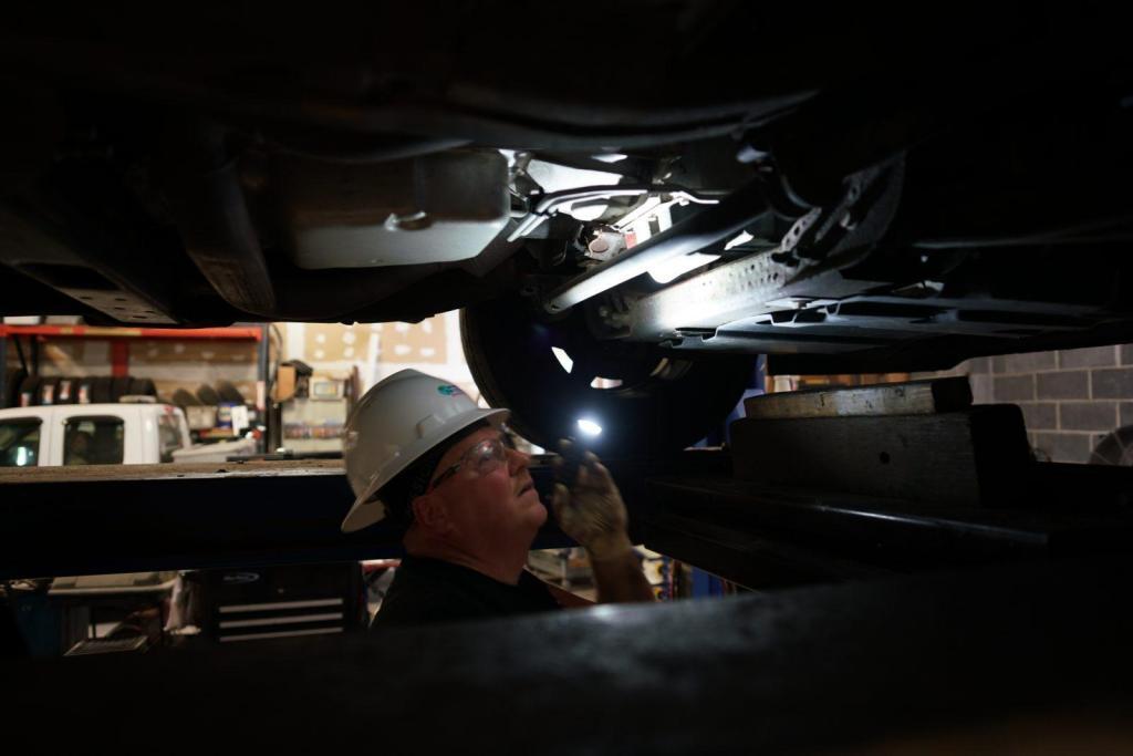 Vehicle Fleet Management Mechanic