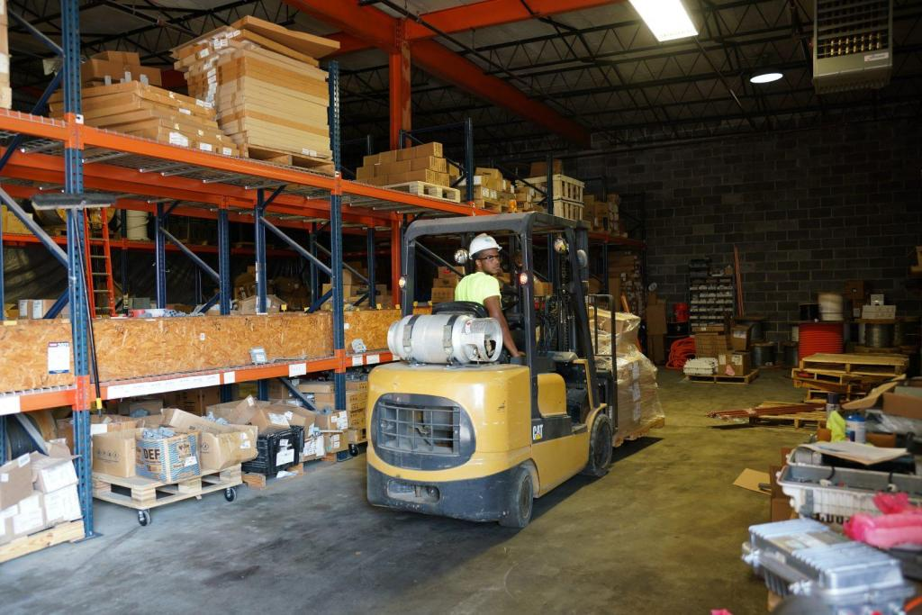 Warehouse Management Stock Inventory Control Materials