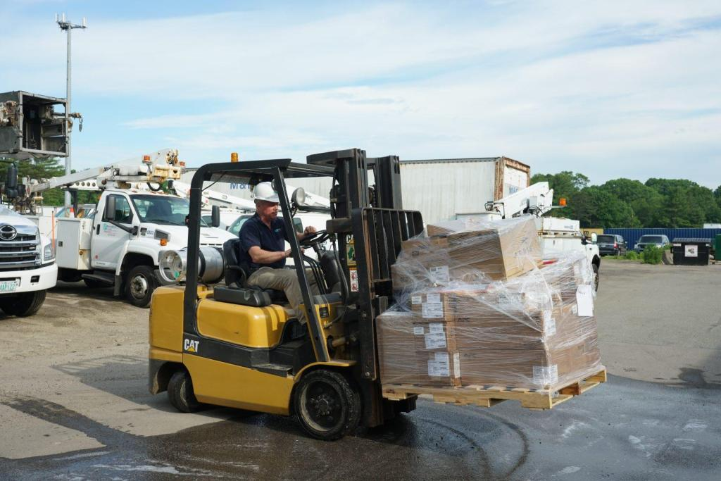 Warehouse Materials Management Inventory Control Forklift