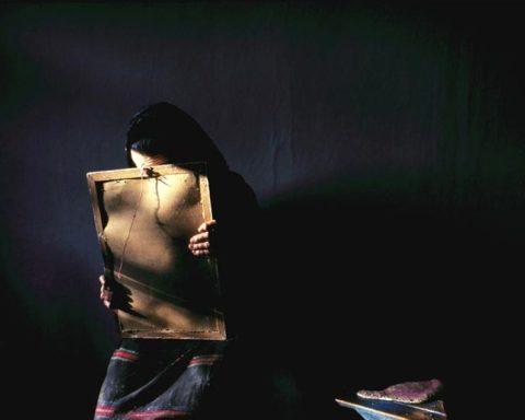 lukisan kerinduan anak pada ibu