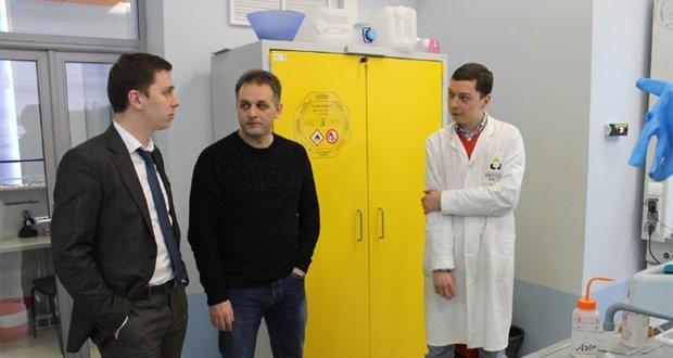 Генеральный директор ЗАО «Базальтовые проекты» посетил МИЦ «Композиты России» с рабочим визитом