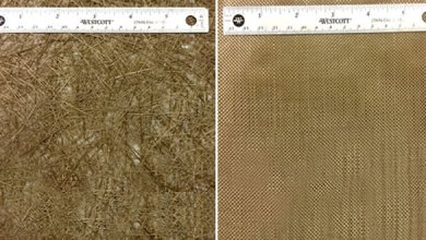 Photo of Properties of Geopolymer Composites Reinforced With Basalt Chopped Strand Mat or Woven Fabric
