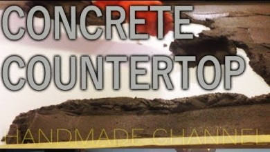 Photo of How I Failed my Concrete Countertop – Concretework on Handmade Channel