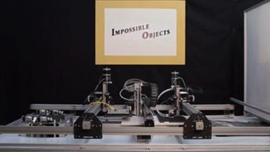 Photo of Impossible Objects' 3D printer received prestigious RAPID + TCT Innovation Award
