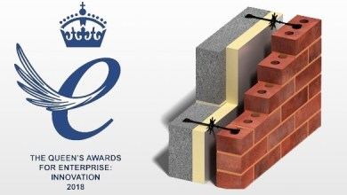 Photo of Basalt composite wall ties won Queen's Award