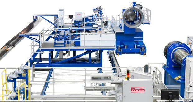 Roth Composite Machinery developed filament winding plant for aerospace