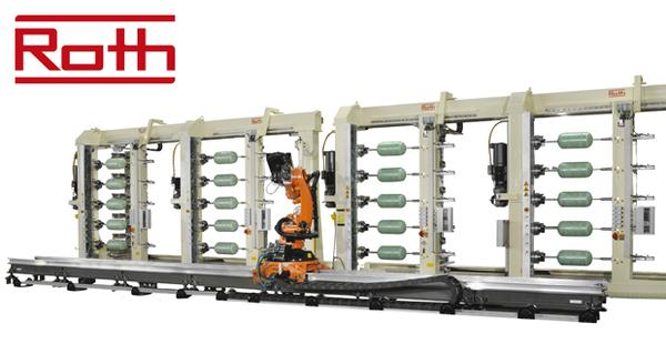 Roth Composite Machinery is setting new standards with high-speed winding process