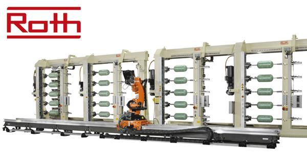 Roth Composite Machinery поднимает планку технологии высокоскоростной намотки