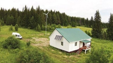 Photo of Basalt fiber eco-house built just outside the Russian city of Perm
