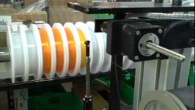Photo of Showmark Solutions for Production of Spools of Fishing Line and other Fine Filaments