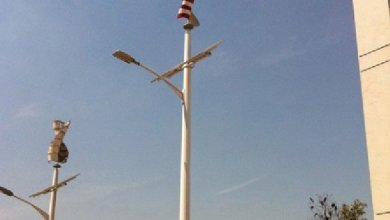 Photo of WindSmart is the world's first vertical wind turbine made of basalt composite