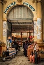 L'entrée du marché