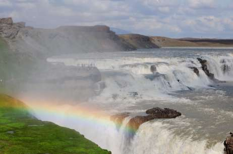 The biggest waterfall in Europe.