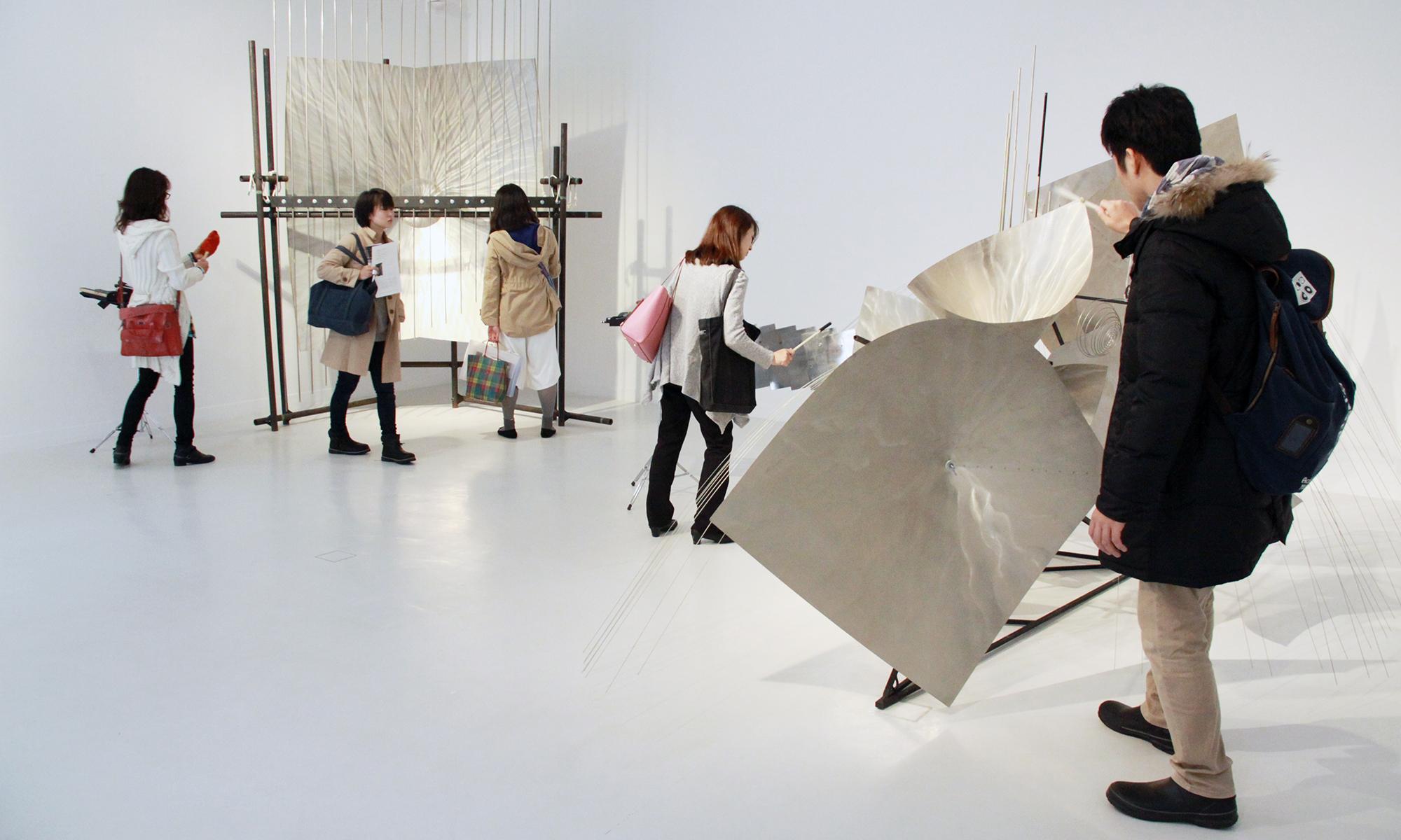 「バシェ音響彫刻展覧会」京都芸術センターギャラリー/2015年11月4日~12日