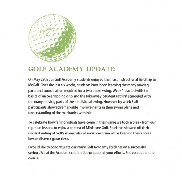 golf academy review