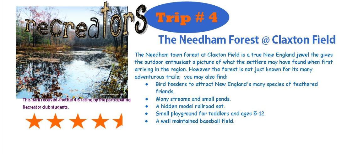 Needham forest rating
