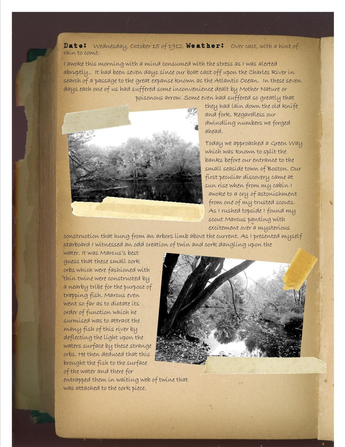 Journal entry greenway)