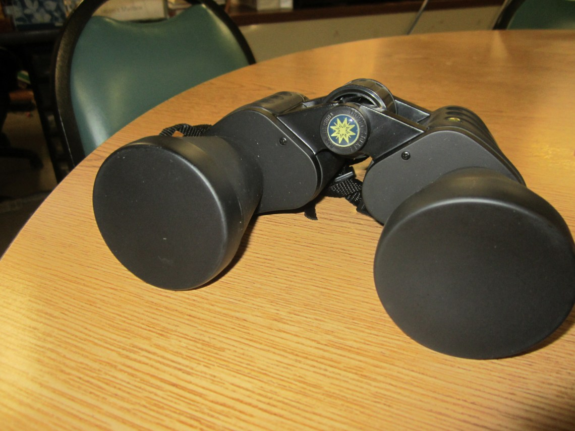 Mystery Box #2: Fran & Bryan's Snack Room: Binoculars